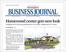 Homewood Center Gets New Look